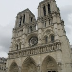 The Front of Notre Dame