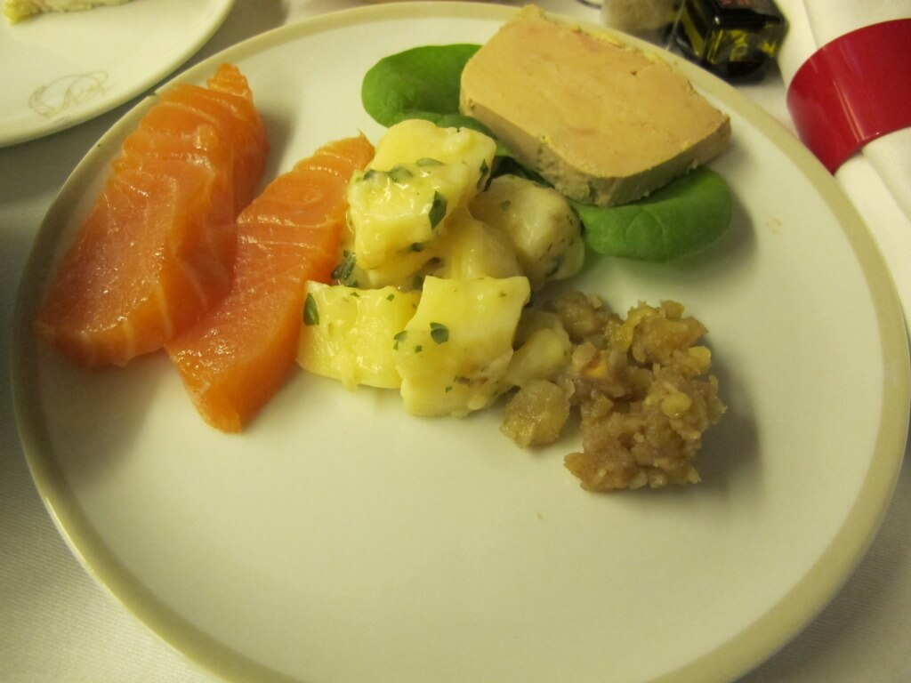 Smoked Salmon and Foie Gras