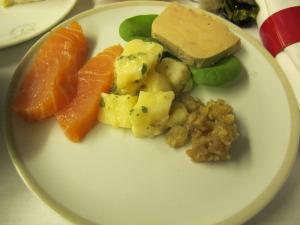 Smoked Salmon and Foie Gras