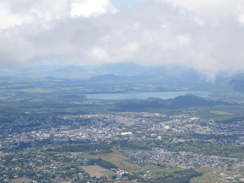 Beautiful Views of Mauritius from Air France Flight