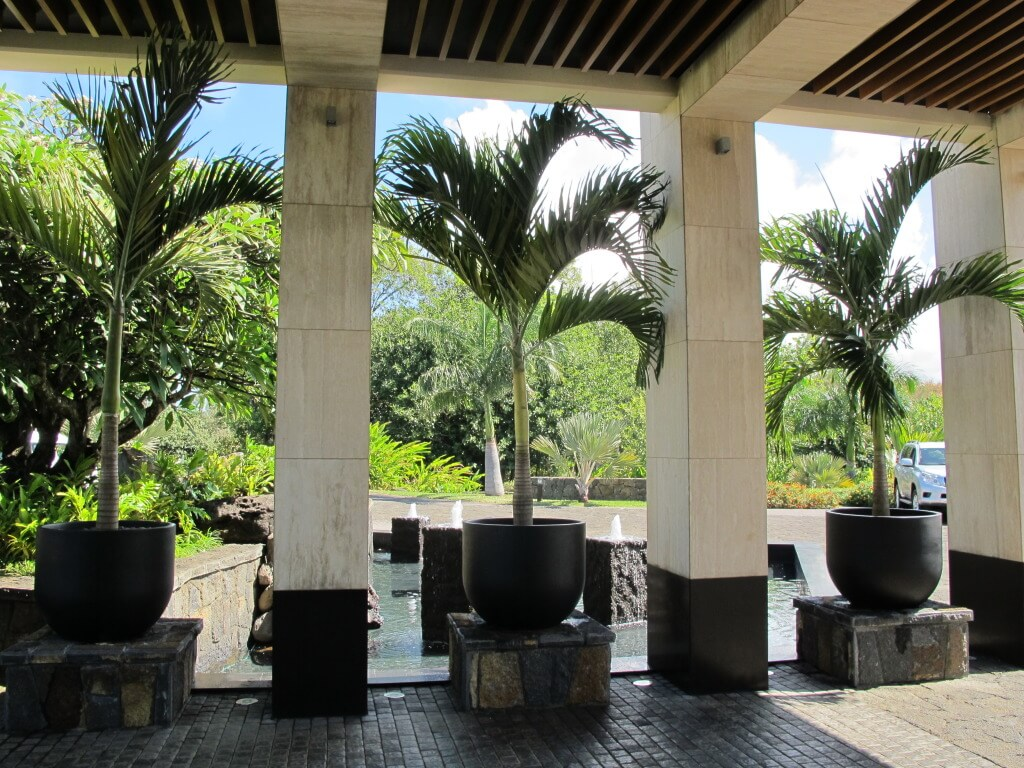 Car Reception Area at Four Seasons Mauritius