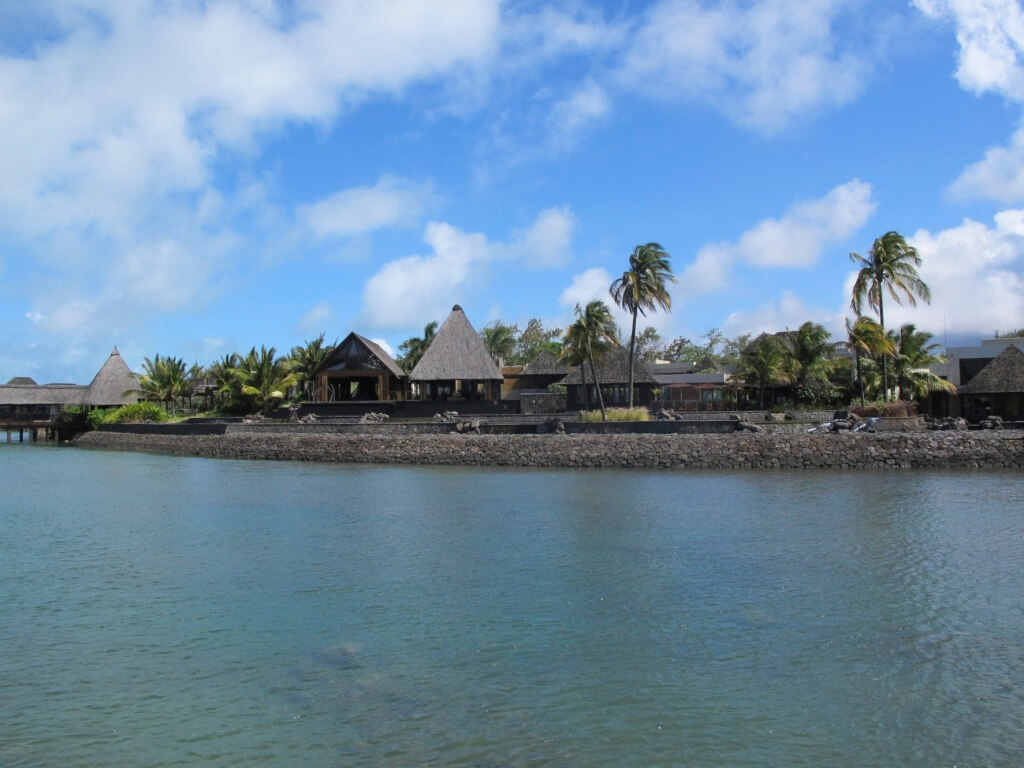 View of the Four Seasons Mauritius from the Bridge