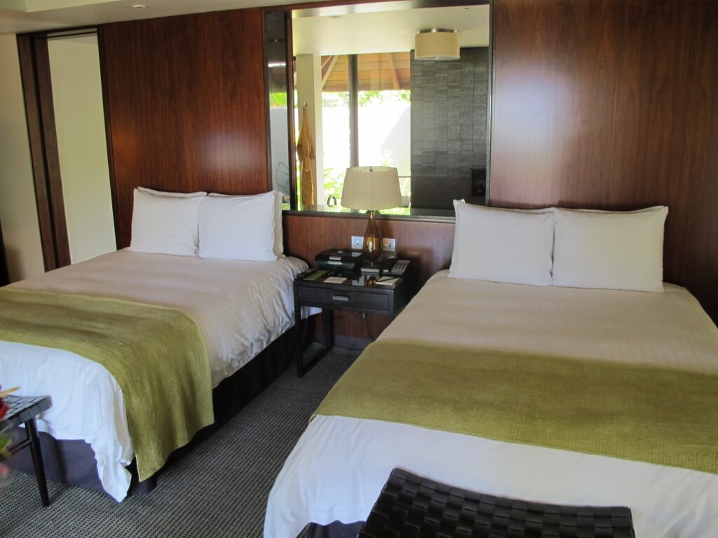 Queen Beds at Four Seasons Mauritius