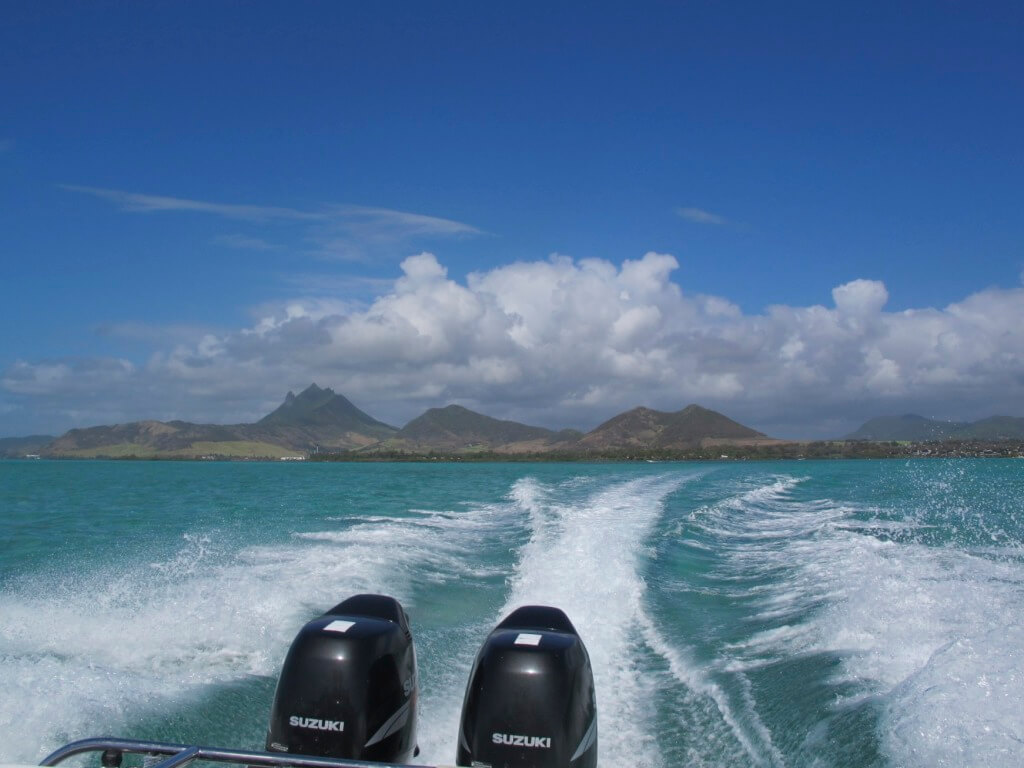 On our way to Scuba Dive in the Indian Ocean