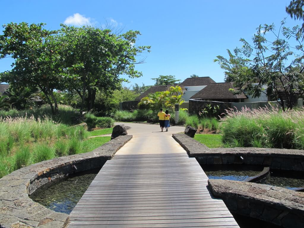 Well Maintained Walkways throughout the resort