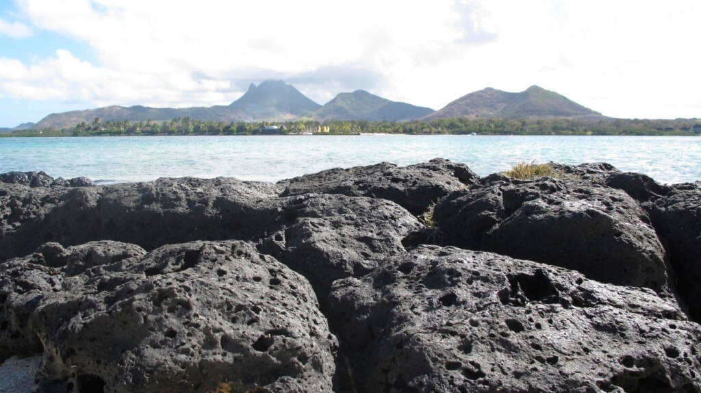 One last view of the Four Seasons Mauritius before leaving