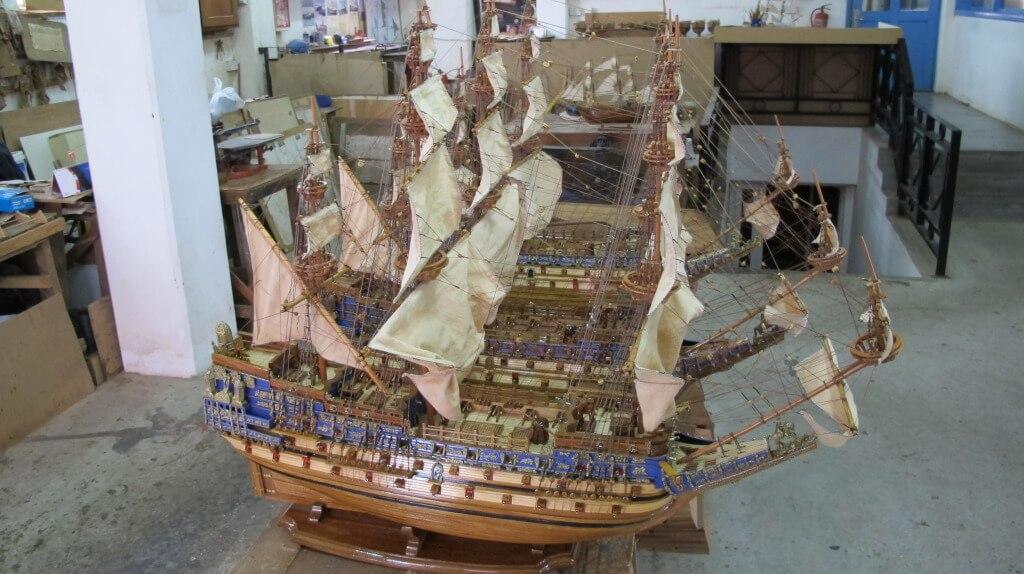 Handmade Model Ships