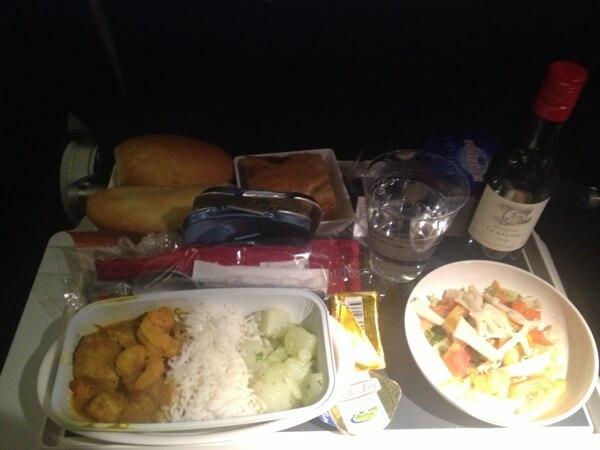 Air Mauritius Coach Meal