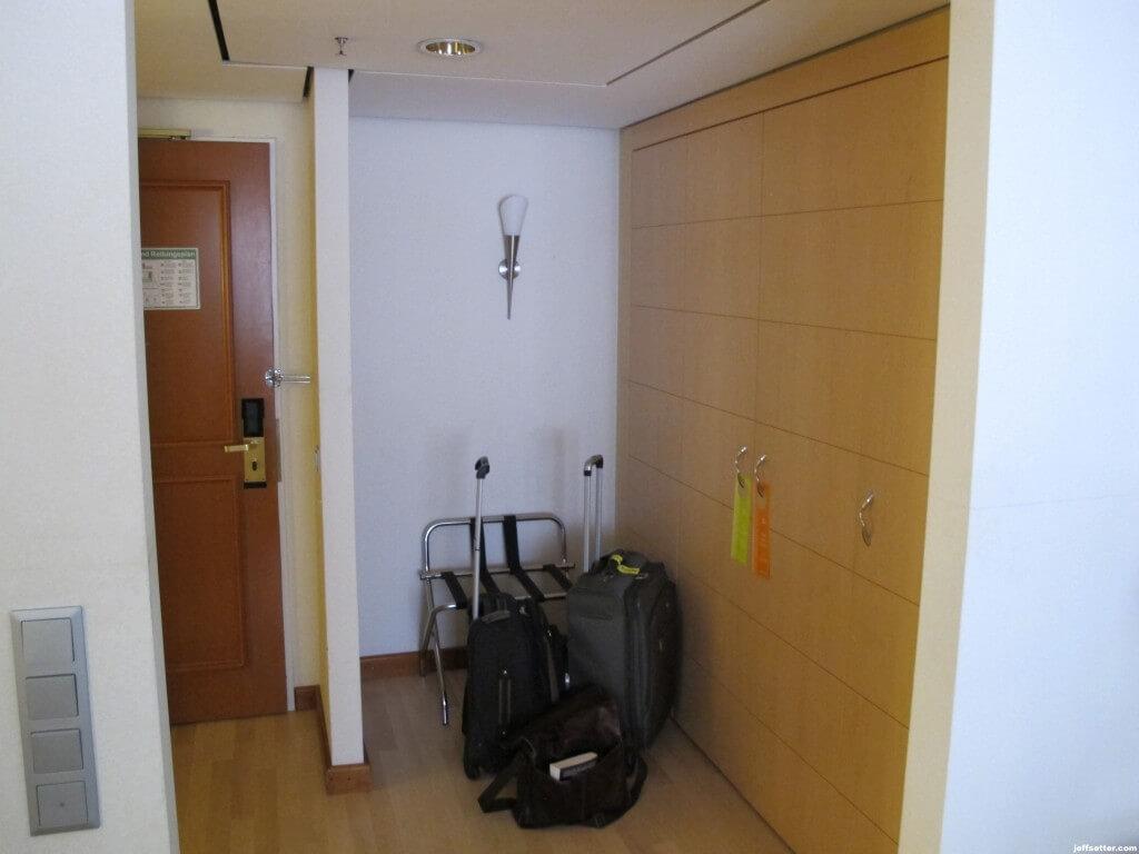 Storage area at Hilton Munich City
