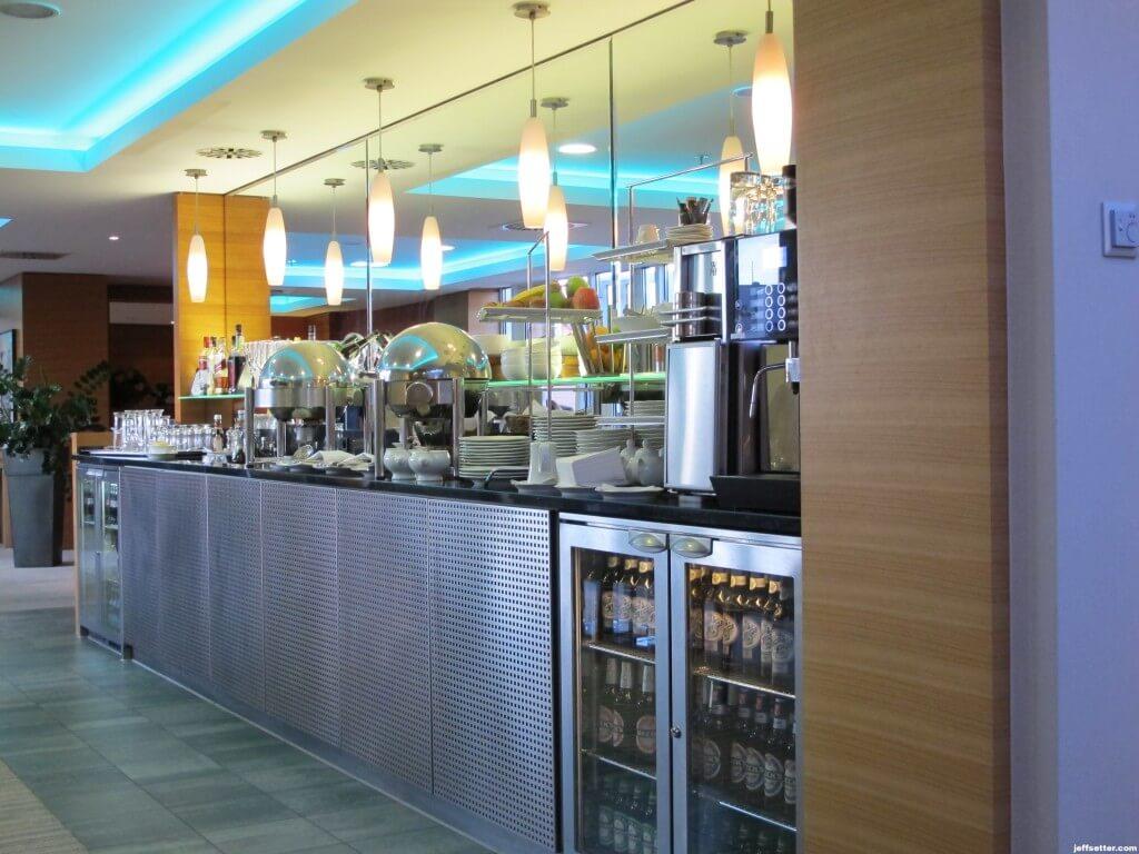Executive Lounge at the Hilton Munich City