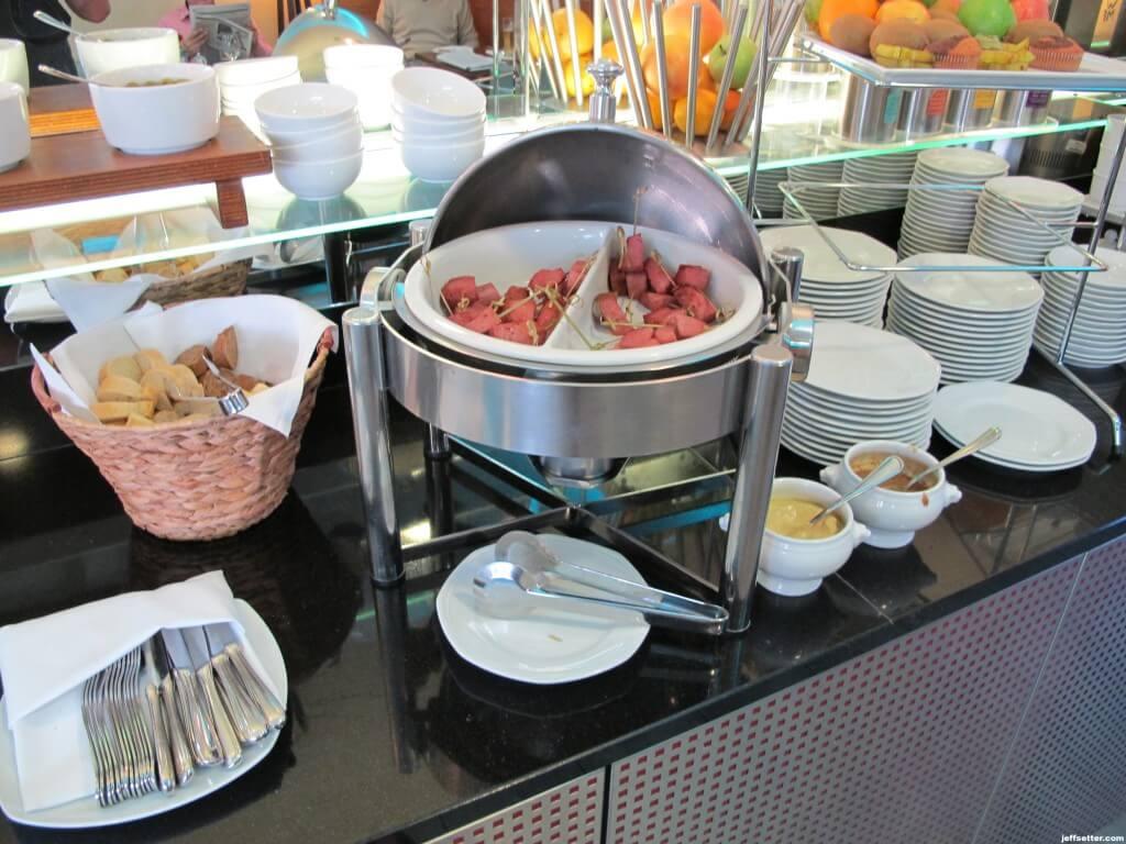 Sausages at Hilton Munich City