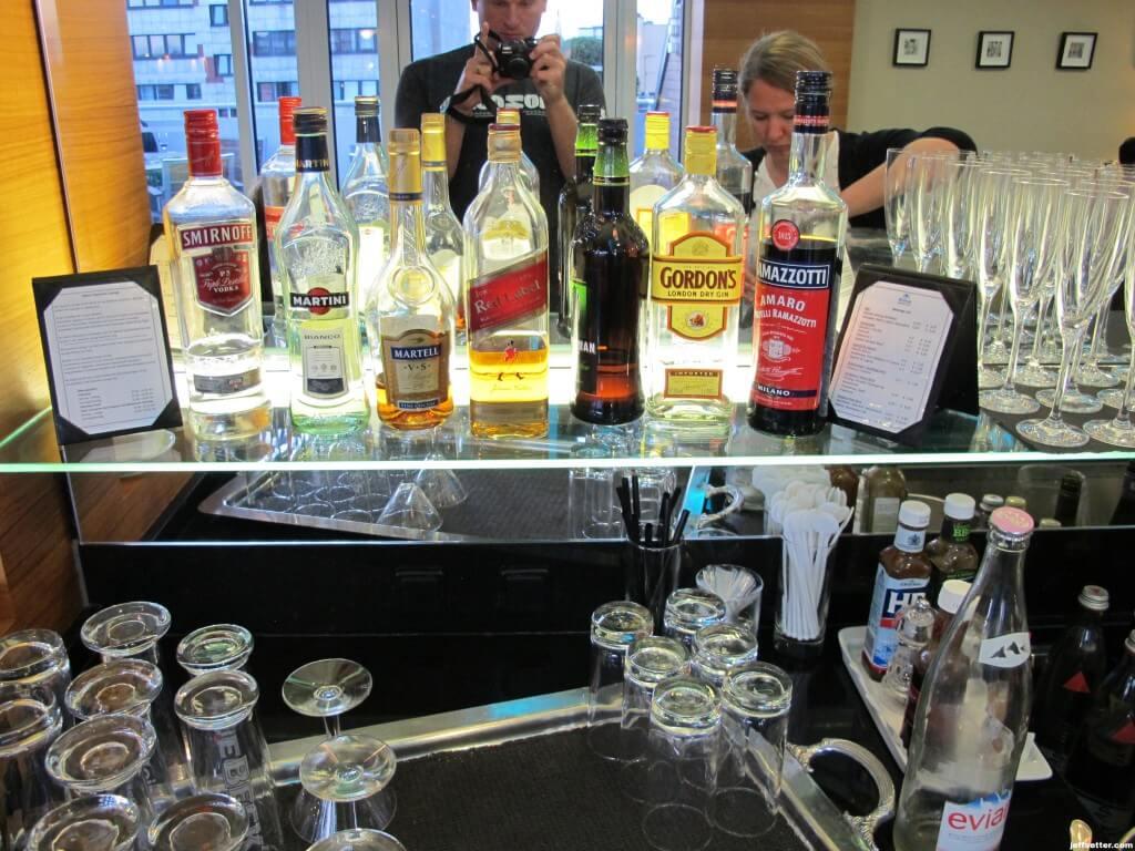 Liquor at Hilton Munich City