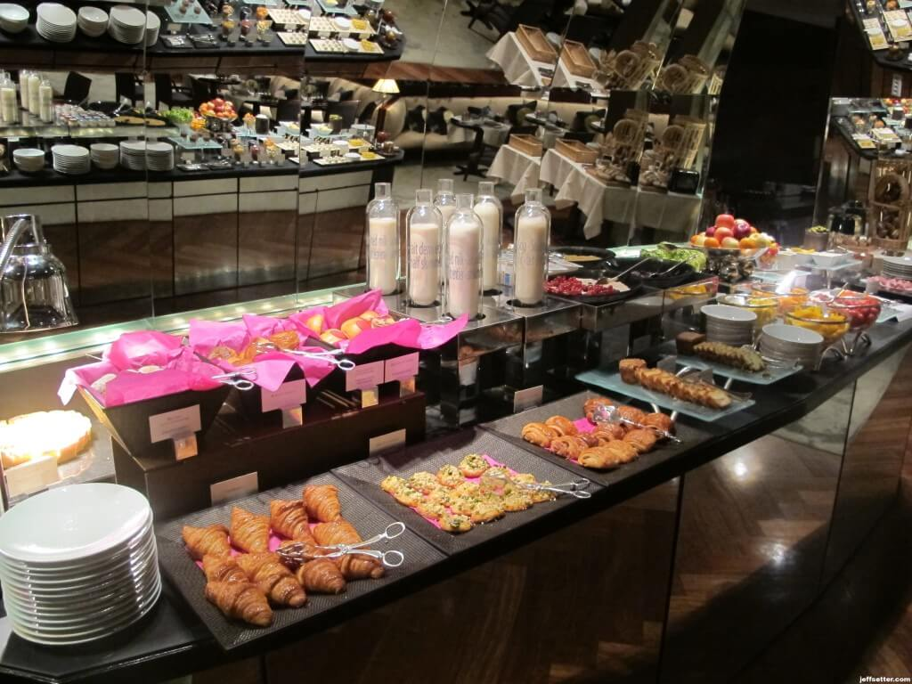 Pastries at Breakfast Buffet