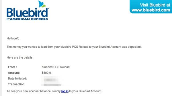 BlueBird Payment