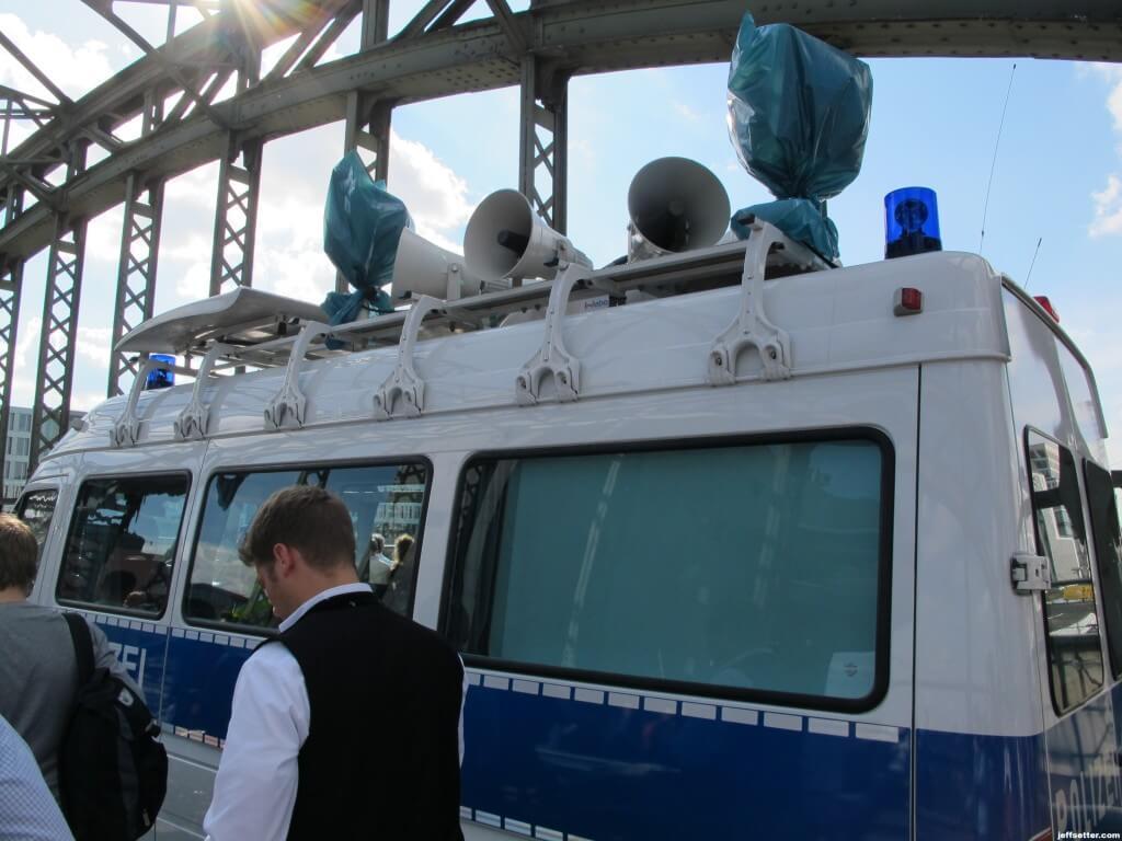 Munich Police Bumping Music