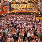 Oktoberfest in Munich at the Hippodrom