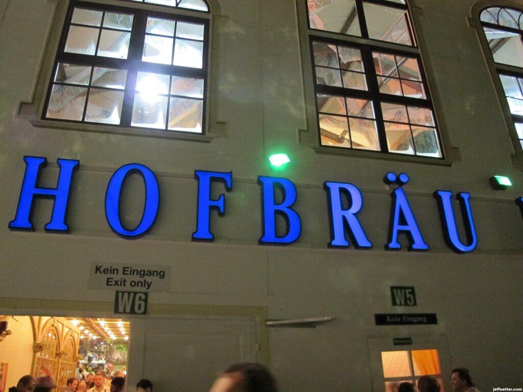 The Famous Hofbrau House