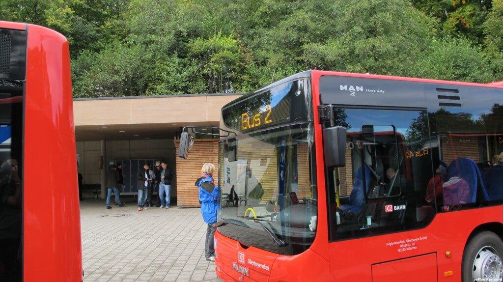 Bus Loading Area
