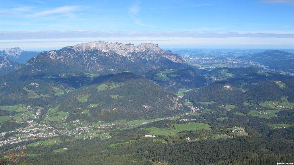 View from Kehlsteinhaus