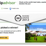 Does Posting Reviews to Trip Advisor Help or Hurt Your Travel Blog?
