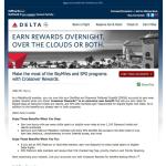 Delta SPG Crossover Rewards Registration is Now Live