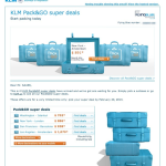 KLM Flight Deals – Book February and Travel in April 2013