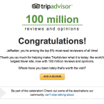 Jeffsetter is Among TripAdvisor Top Reviewers, but How?