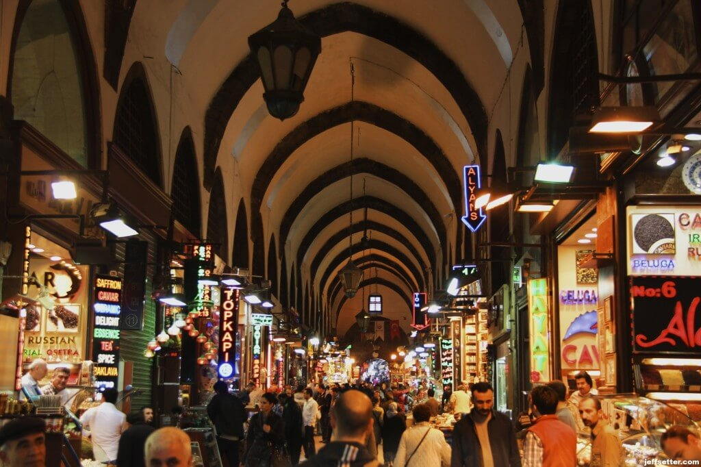 The Galata Spice Market in Istanbul