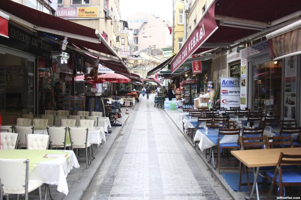 Walking the Streets of Old Town Istanbul