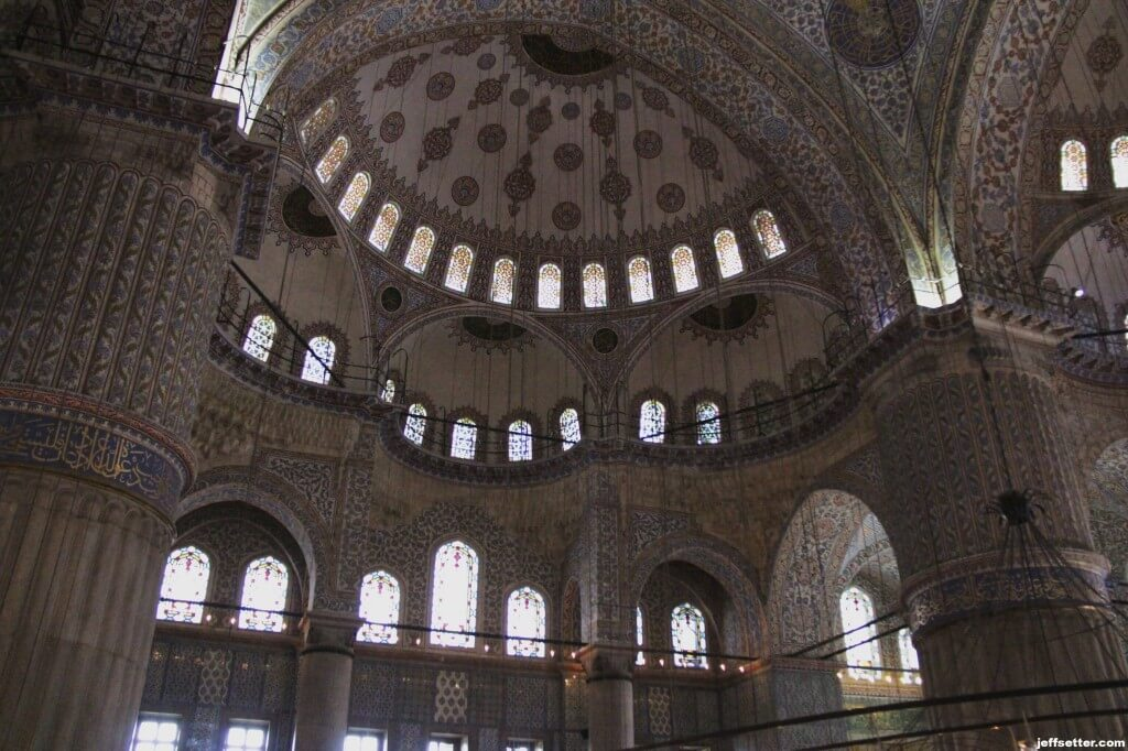Walls of the Blue Mosque