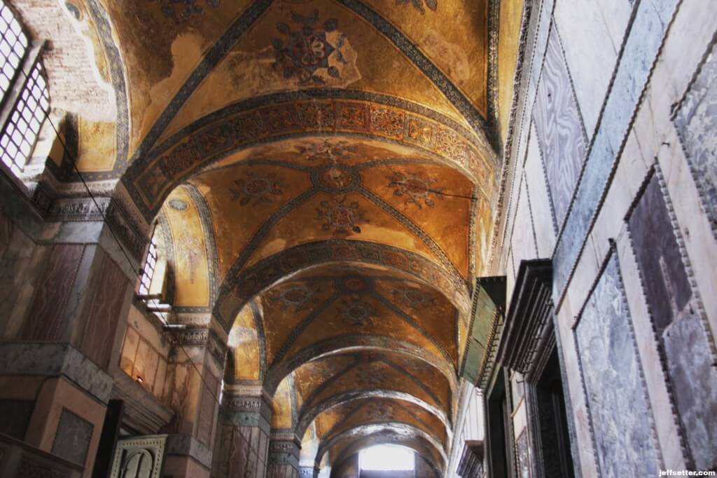 Entry to Hagia Sofia
