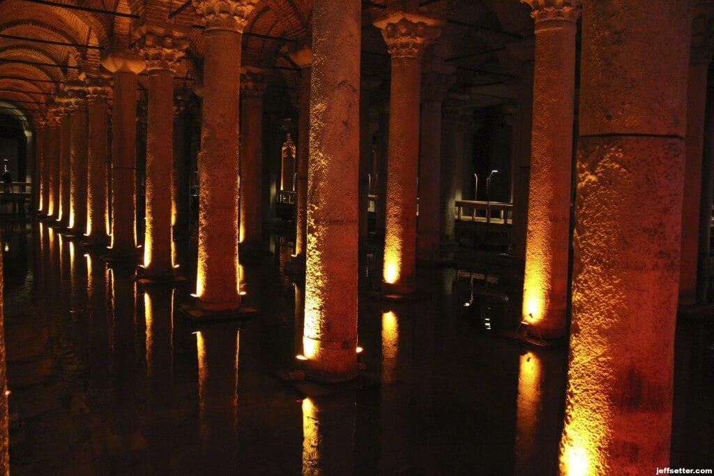 Basilica Cistern Columns