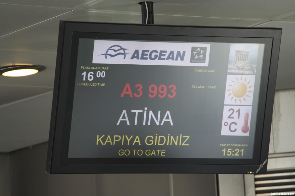 Next Stop Athens