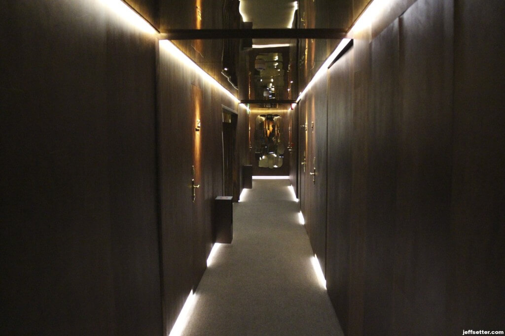 Hallway at the New Hotel