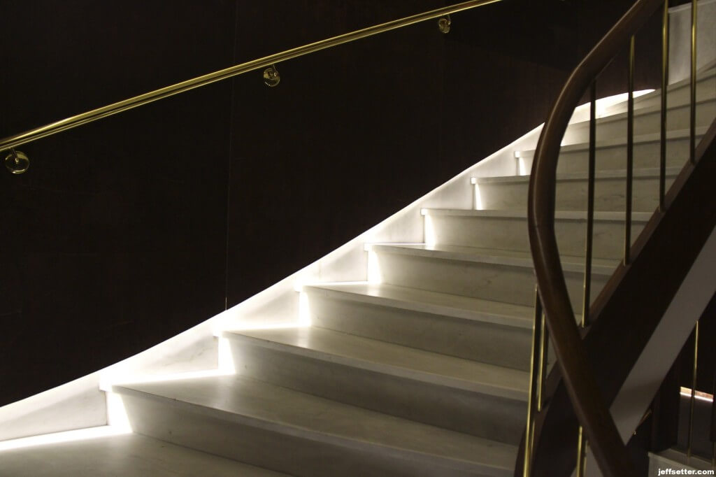 Staircase at New Hotel