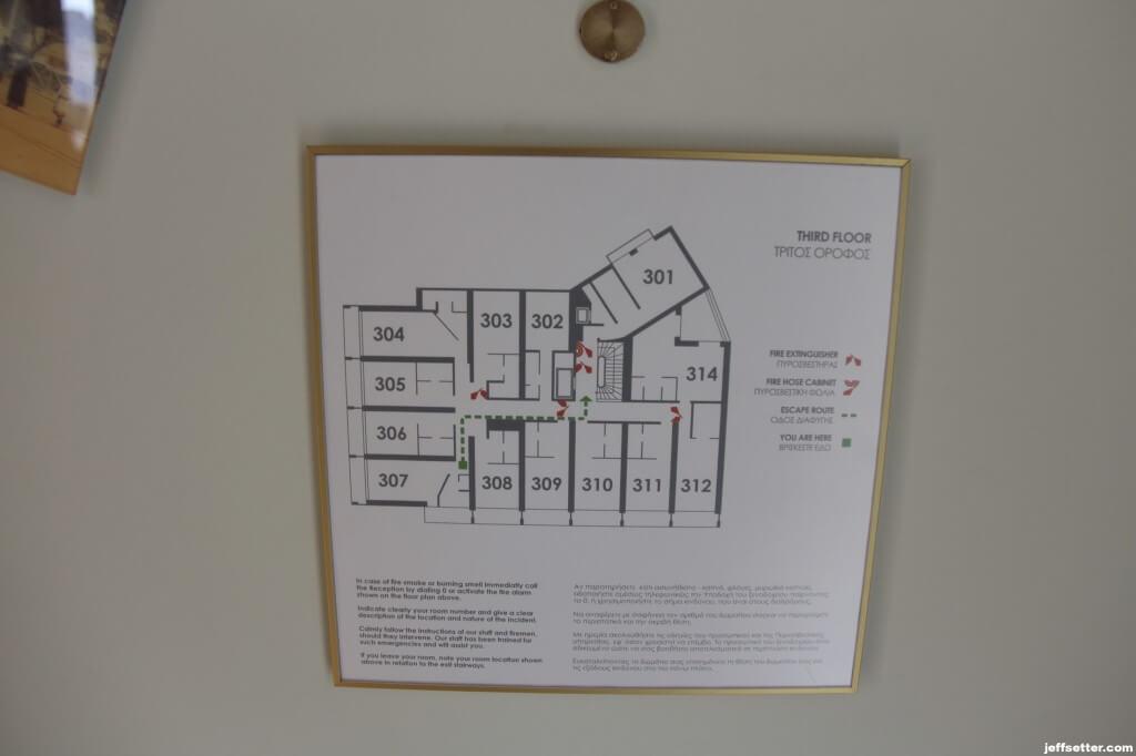 Floorplan at New Hotel