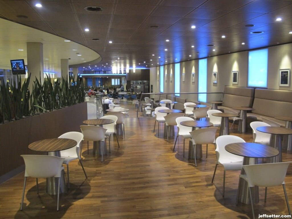 KLM Crown Lounge View Early AM