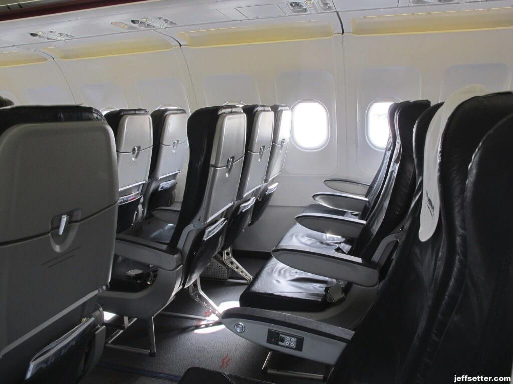 Standard Economy Seat on Aegean