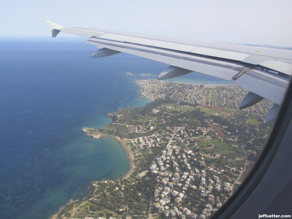 Entering Mainland Greece