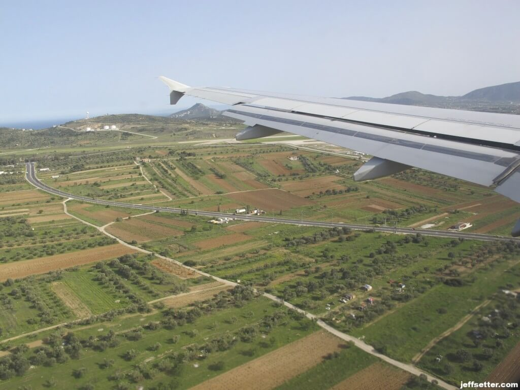 Approaching Airport