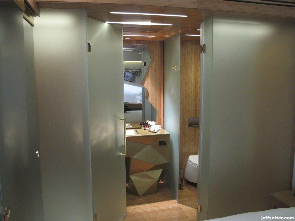 Original Bathroom at New Hotel Athens