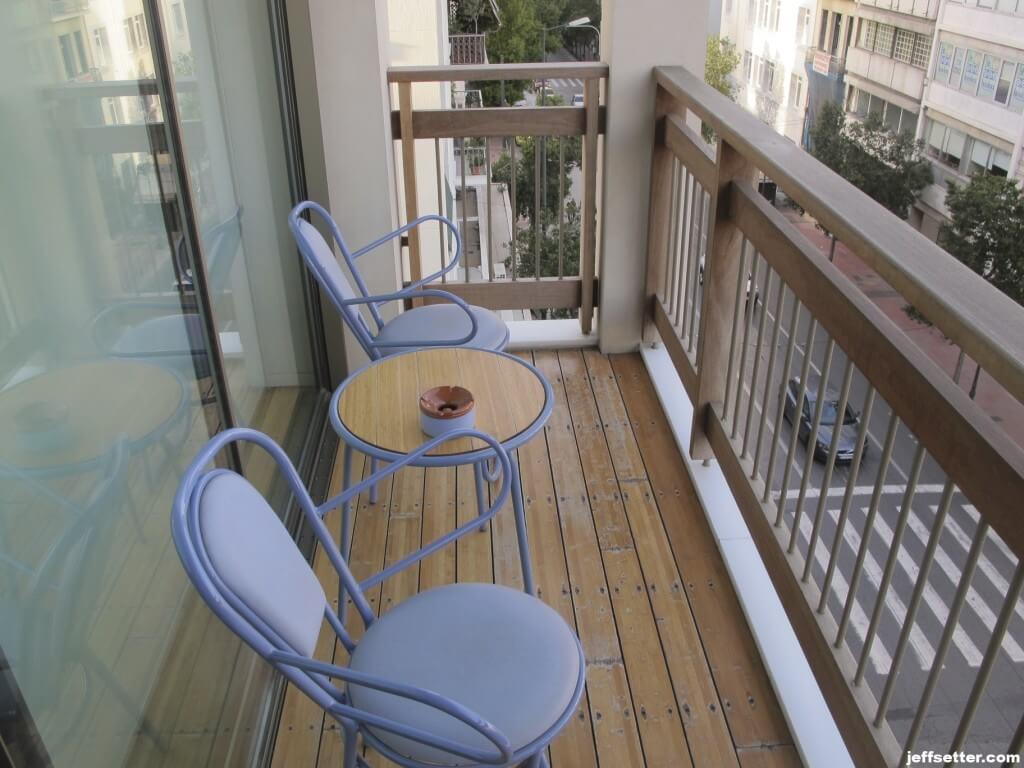 Balcony Room at New Hotel