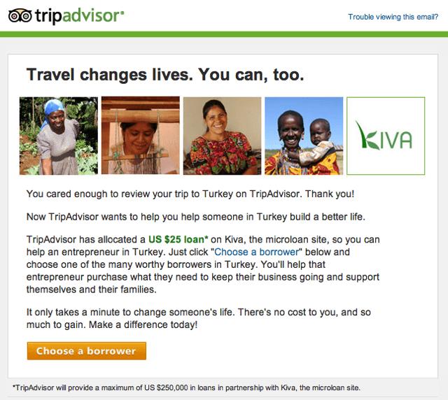TripAdvisor Kiva Loans