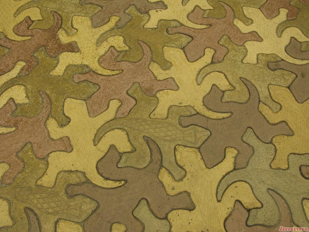 Cool Lizard Tiles