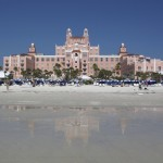 The Don Cesar Hotel in St. Petersburg, Florida