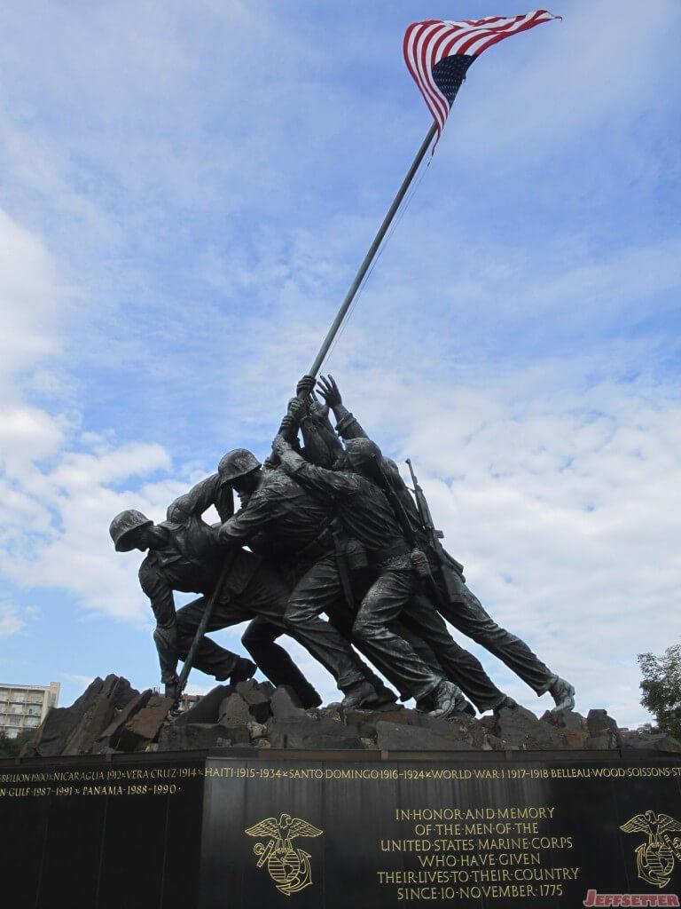 Iwo Jima Memorial in Washington, DC