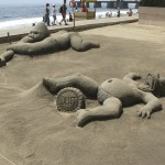 Friday Photo: Sand Sculptures in Viña Del Mar, Chile