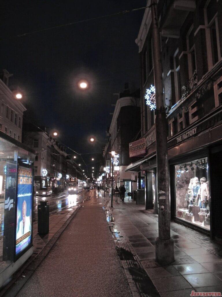 Love Rainy European Streets at Night