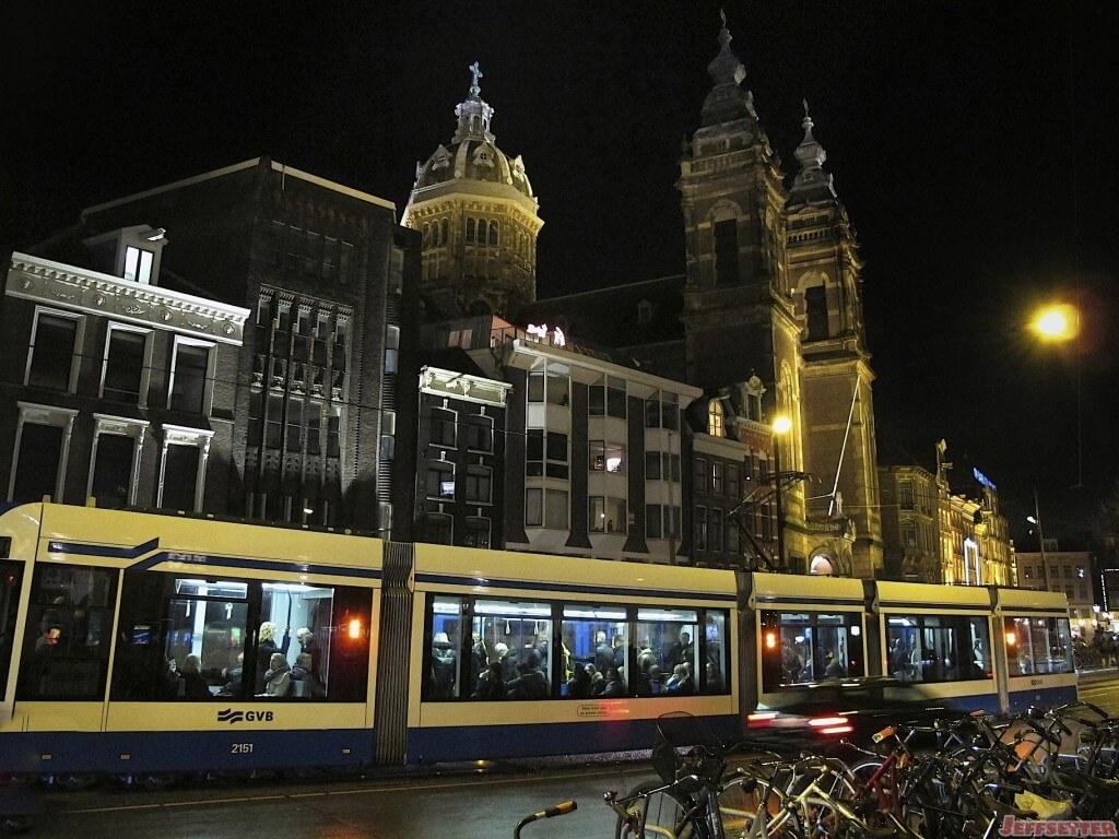 Tram at City Center