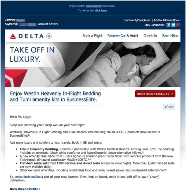 Delta Heavenly Bedding